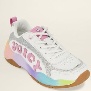 Girls Juicy Couture Beverly BLVD Rainbow Sneakers